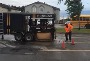 pavage asphalte
